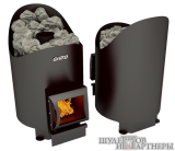 Печь-каменка Grill`D Aurora 160 Short  black